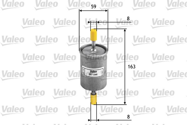 Filtre à carburant pour ALFA ROMEO 156 Phase 2 1.6 16V T.SPARK