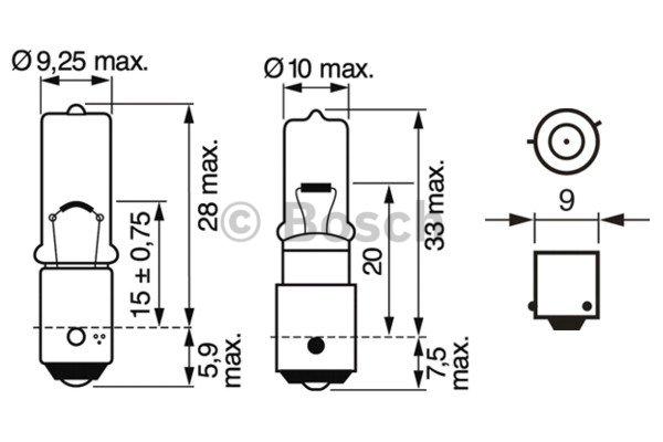 Ampoule, feu arrière pour CITROËN C4 Grand Picasso 2.0 HDi