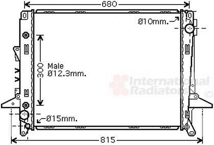 Radiateur du moteur pour LANDROVER RANGE ROVER sport 2.7 TDVM