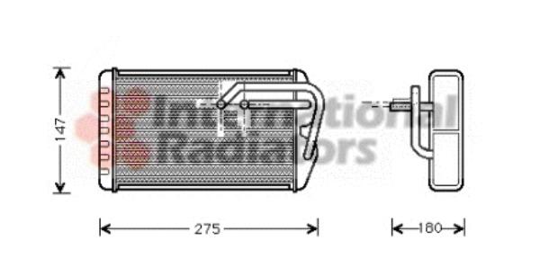 Radiateur de chauffage pour ROVER 600 620 Sdi