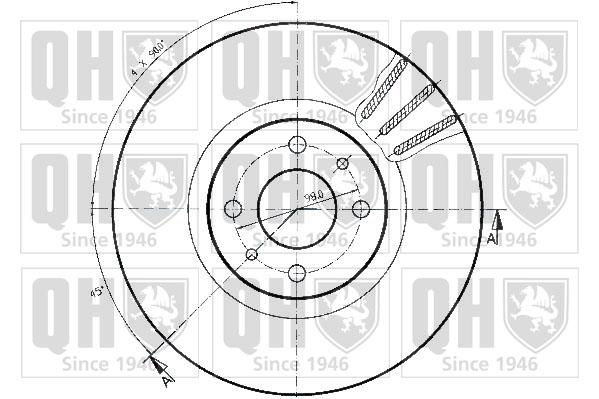 Disque de frein Unitaire pour FIAT Stilo Phase 2 1.9 JTD