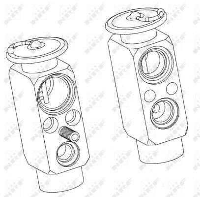 Détendeur, climatisation pour MERCEDES-BENZ CLASSE G (463