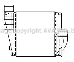 Intercooler, échangeur pour CITROËN C4 Picasso 1.6 HDi 115