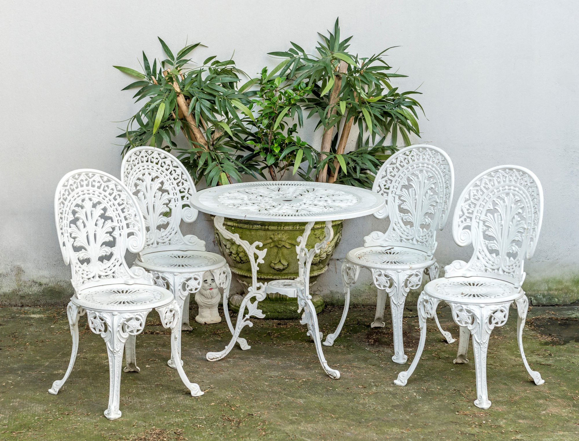Table De Jardin Fonte D Aluminium | Salon Jardin Metal Salon Jardin ...