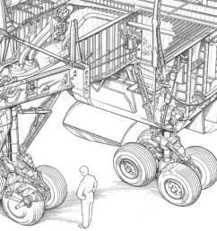 diagram of inside of a 747 [ 1024 x 768 Pixel ]