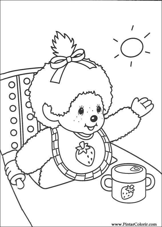 Coloring Pages Of Boo From Monsters Inc