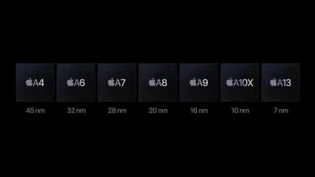 Apple A14 Bionic evolución