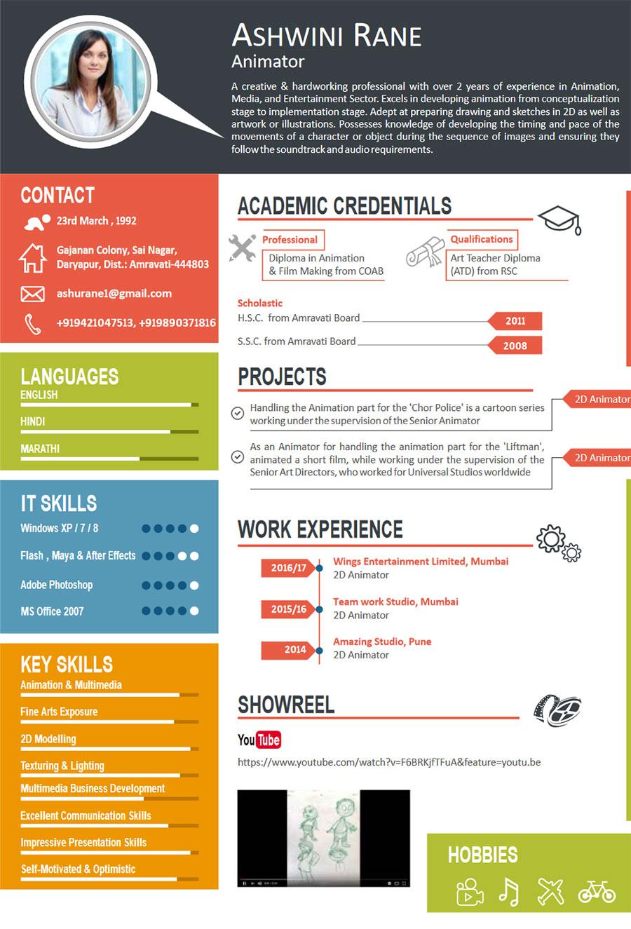 job resume for skills