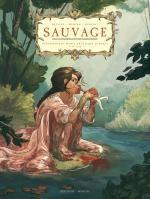 Sauvage T1, bd chez Delcourt de Morvan, Bévière, Hersent