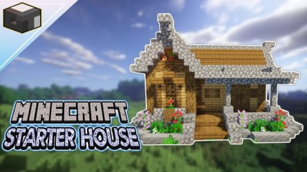 How to build a House in Minecraft Starter House Tutorial