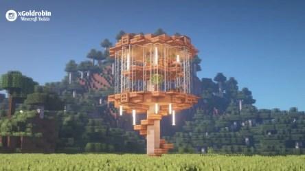Brown mushroom House Minecraft Map