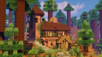 minecraft cottage cozy mc loft map cottages community planet maps