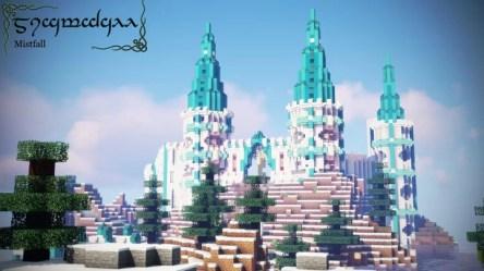 Elven Castle WIP Minecraft Map