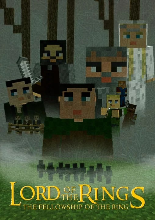 Minecraft Lord Of The Rings Map : minecraft, rings, Rings, Fellowship, Adventure, Minecraft