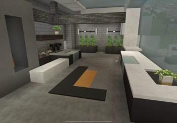 Small Modern Kitchen Design Minecraft Map