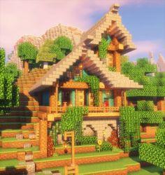 Pastel Cute Minecraft House