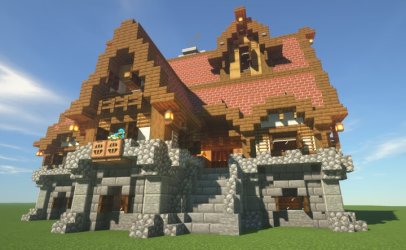 medieval minecraft classic pmcview3d