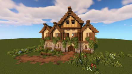 Large Medieval House/Tavern Minecraft Map