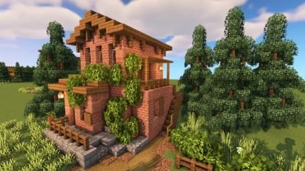 Small Spanish Starter House Minecraft Map