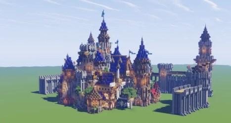 Medieval Fantasy Castle Concept Build Minecraft Map