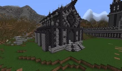 Dark Fantasy City Minecraft Map