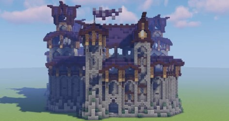 Elven fortress Minecraft Map
