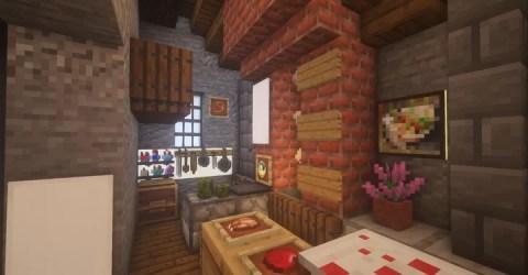 Medieval Kitchen Minecraft Map