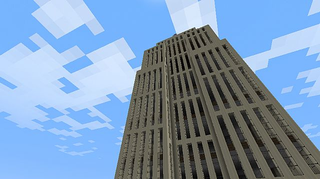 Empire State Building DOWNLOAD Minecraft Project