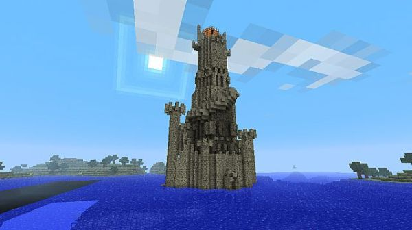 Tower of Sauron Minecraft Project