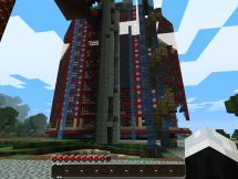 Hotel Ruins Of Awesomeness. Minecraft Project