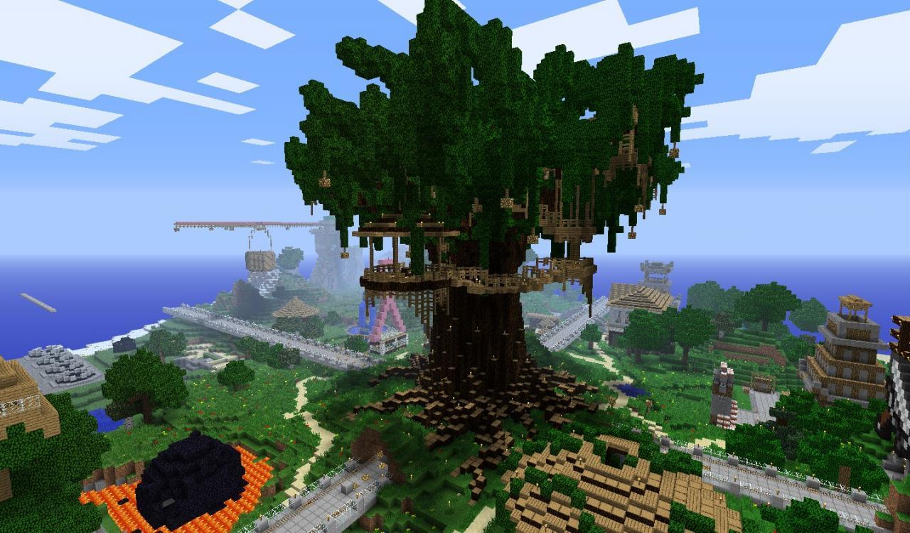 Treehouse 3 Minecraft Pinterest
