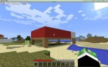 Giant Minecraft Hotel