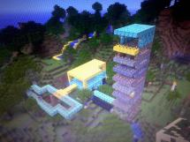 Epic Hotel Home Fort And Modern Castle Minecraft Project