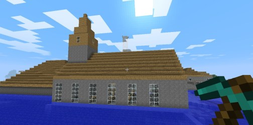 church simple minecraft viewer outside