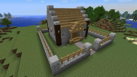 minecraft cozy cottage fence designs ideen dekorationen zu planetminecraft schemagic info garden announcement feature read entdecke