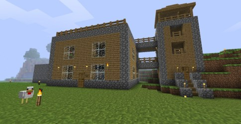 minecraft simple houses easy survival designs cool google front build models modern blueprints plans stuff craft really xbox wates eu