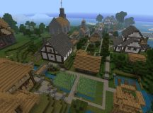 Small Village Minecraft Project