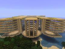 Luxury Hotel Buildings Minecraft