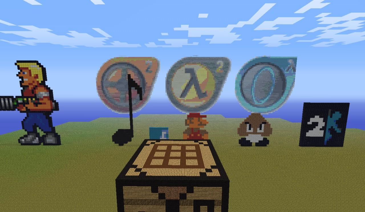 ideas for pixel art