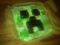 Creeper cake Minecraft Project