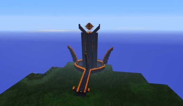 My rendition of Sauron39s Tower Minecraft Project