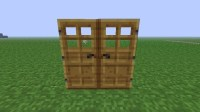 Duplicate Wooden door glitch/bug. Minecraft Project