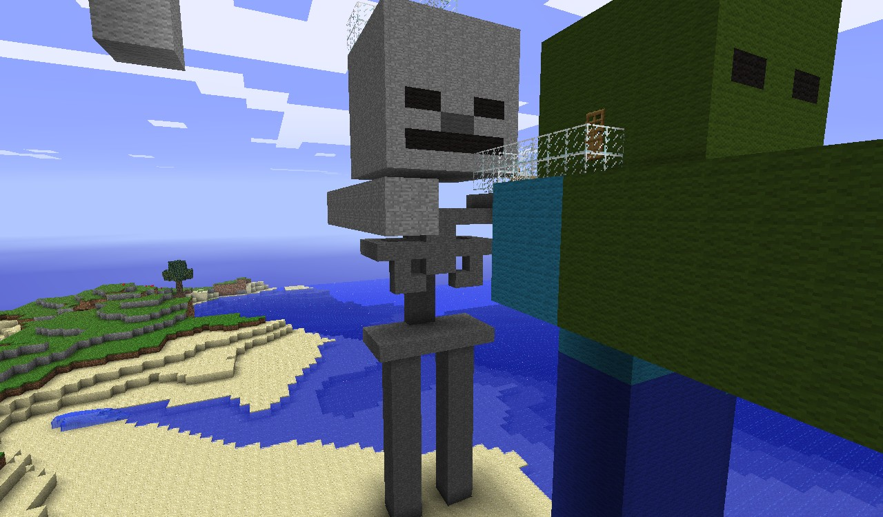 My Awesome House VS2 plus a shep statue Minecraft Project