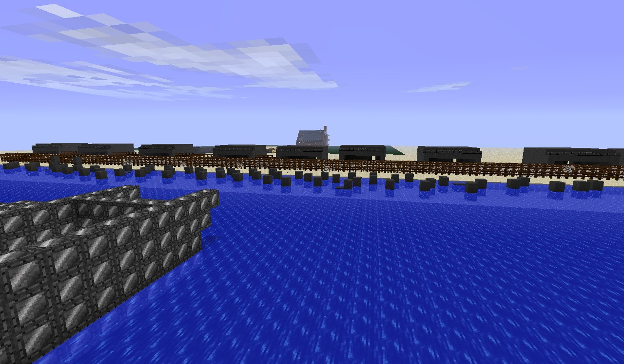D Day Omaha Beach Minecraft Project