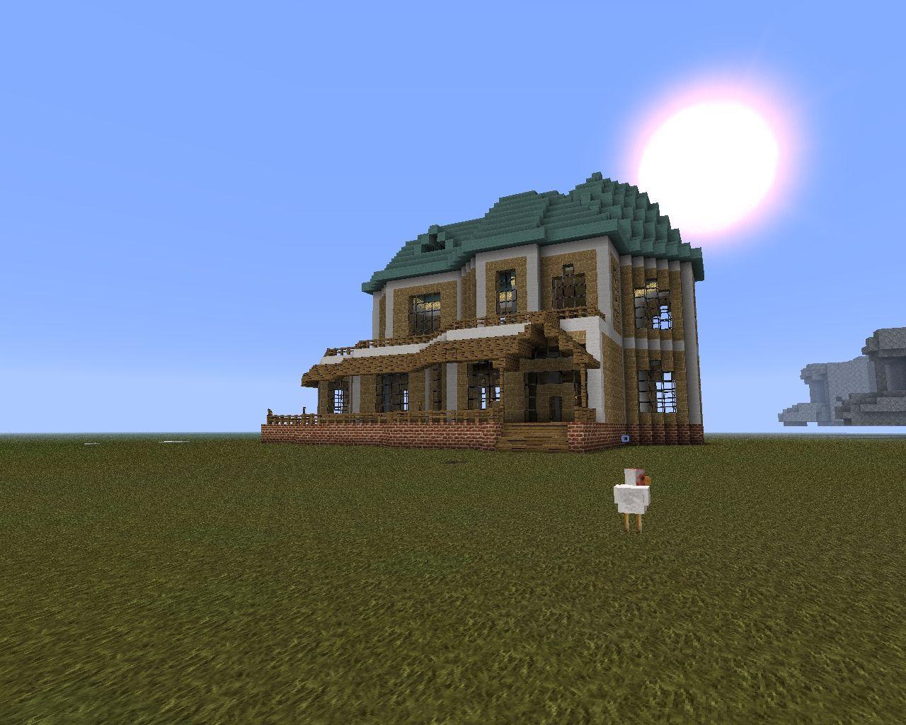 House Planet Minecraft Minecraft Sandstone