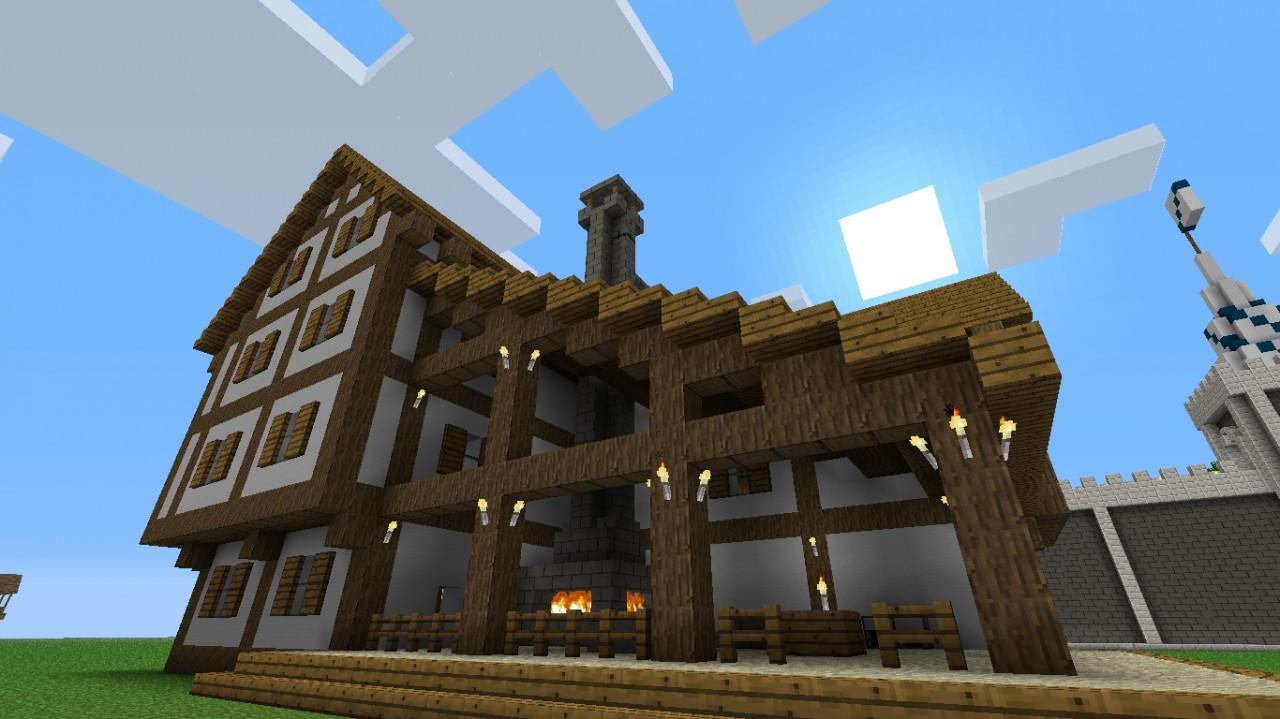 Minecraft Blacksmith Shop
