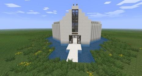 church simple minecraft diamonds keyboard arrow planetminecraft