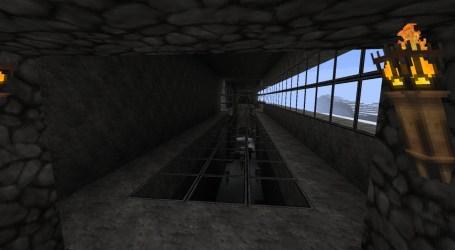 hall simple minecraft goodbye hallway down last
