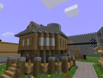 medieval building minecraft project projects tweet