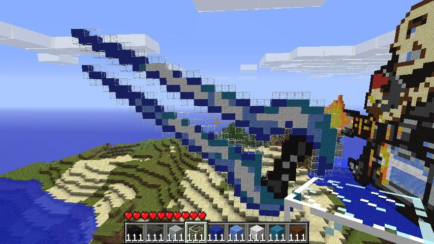 Energy Halo Pixel Art Sword